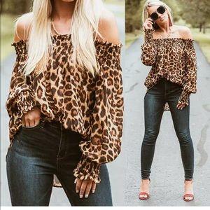 Tops - Leopard sexy top